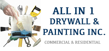 ALL IN 1 DRYWALL & PAINTING INC. Logo